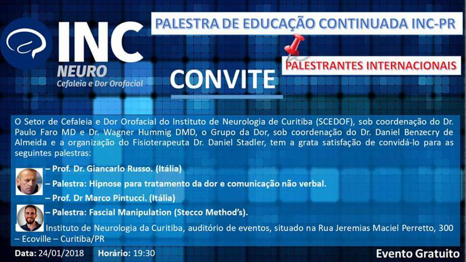 Workshop presso Instituto Neurologia Curitiba