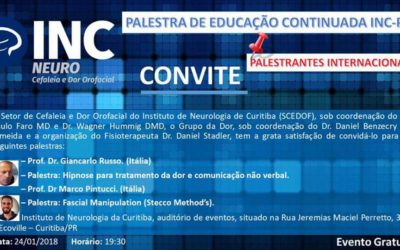 Workshop at Instituto Neurologia Curitiba